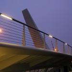 Verlichting brug Zaandam voor Auralight Amersfoort