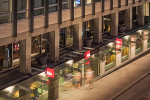 Entree Ibis hotel Den Haag