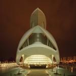 Palau de les Arts, Valencia – architect: Santiago Calatrava