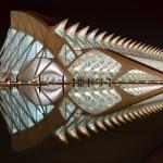 Prínce Felipe Science Museum, Valencia – architect: Santiago Calatrava