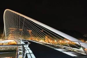 Zubizuri Bridge, Bilbao – architect: Santiago Calatrava
