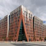 Sumatra building Hamburg, designed by Erick van Egeraat